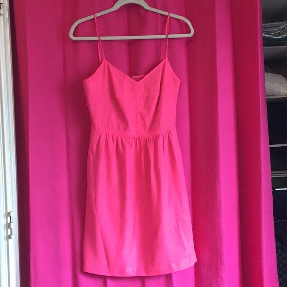 J. Crew Dresses & Skirts - Hot Pink JCrew Dress